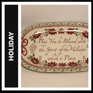 Serving Platter Holiday / Christmas